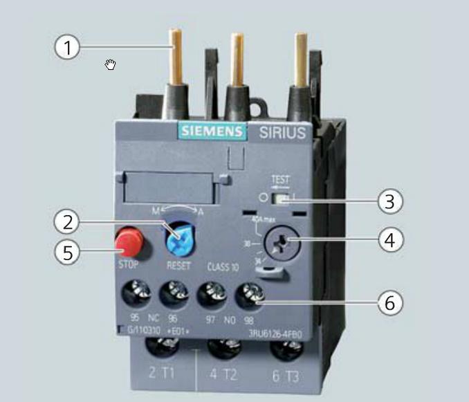 3ru61264nb0 热继电器